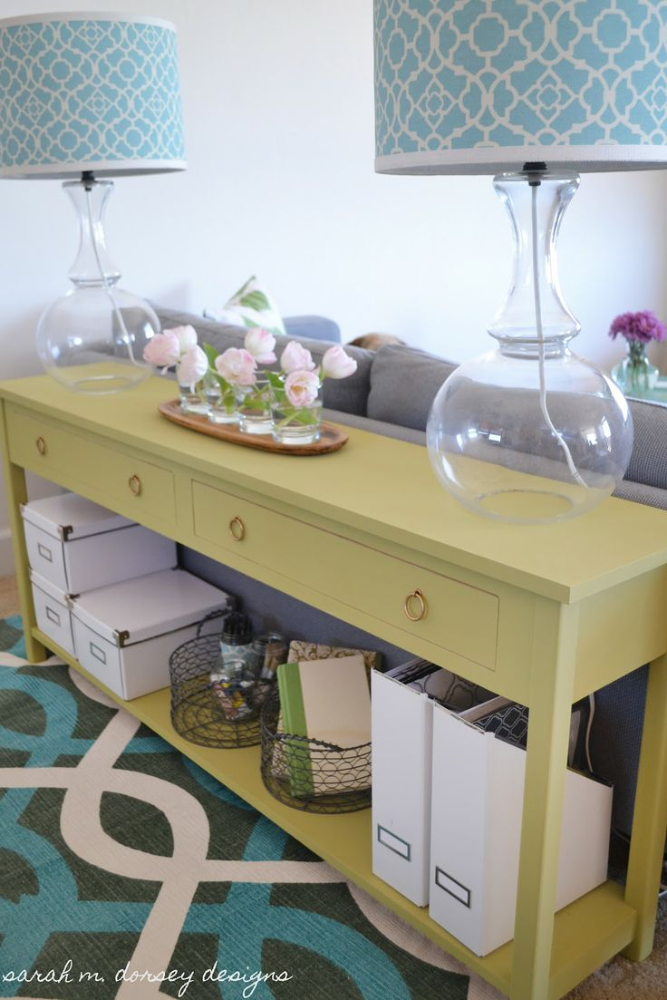 Sofa Table DIY