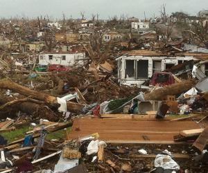 Hurricane Katrina did this to us!!!!!!