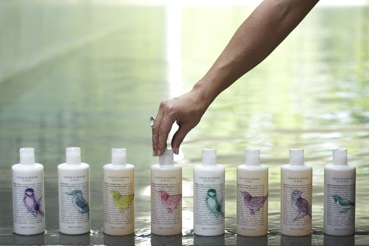 Green & Spring, one of the products we use at C-Side. Spa, Luxury Travel, COtswolds