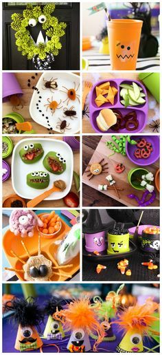 Looking for fun Halloween themed projects to do with the whole family? Check out our Halloween themed blogs to find food art, craft, party ideas and MORE!