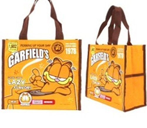 Garfield Cat Lunch Box Bento Food Storage Bag ECO Tote Water Resistant @ niftywarehouse.com #NiftyWarehouse #Garfield #GarfieldCat #GarfieldTheCat #Comics #JimDavis