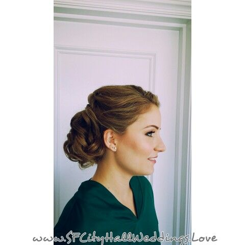 Brides Updo  Hairstyle by Lia Negrete