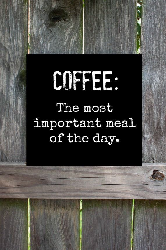 The Most Important Meal of the Day #MrCoffee #Coffee #CoffeeHumor …