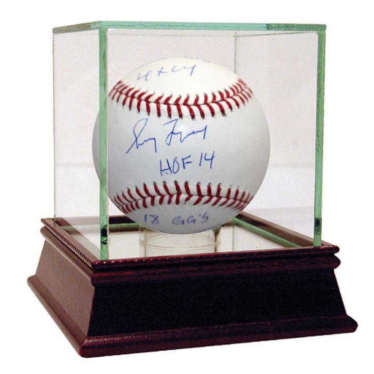 "Steiner Greg Maddux Signed MLB Baseball w/ ""hof 2014 355 Wins 4x Cy Young 8x All Star 18x Gold Glove"" Insc."