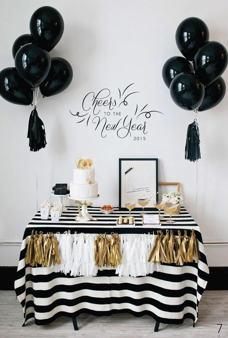 best Gold Black White images on Pinterest  Party ideas Black