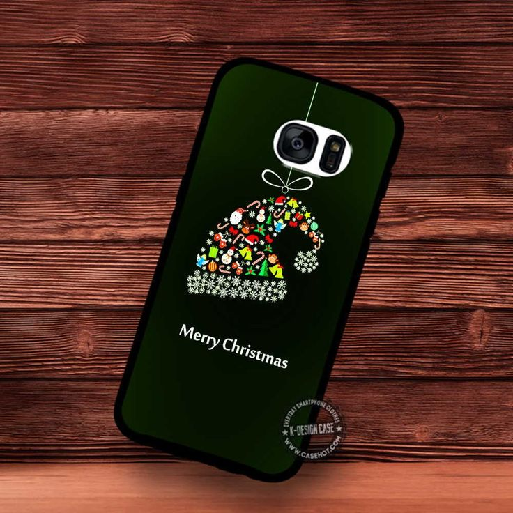 Glow Hat Christmas Baubles Cute Vector - Samsung Galaxy S7 S6 S5 Note 7 Cases & Covers