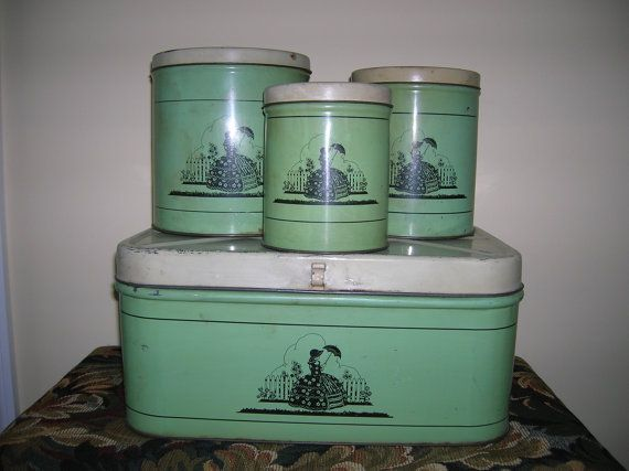 1000 ideas about bread boxes on pinterest vintage bread boxes canister sets and canisters. Black Bedroom Furniture Sets. Home Design Ideas