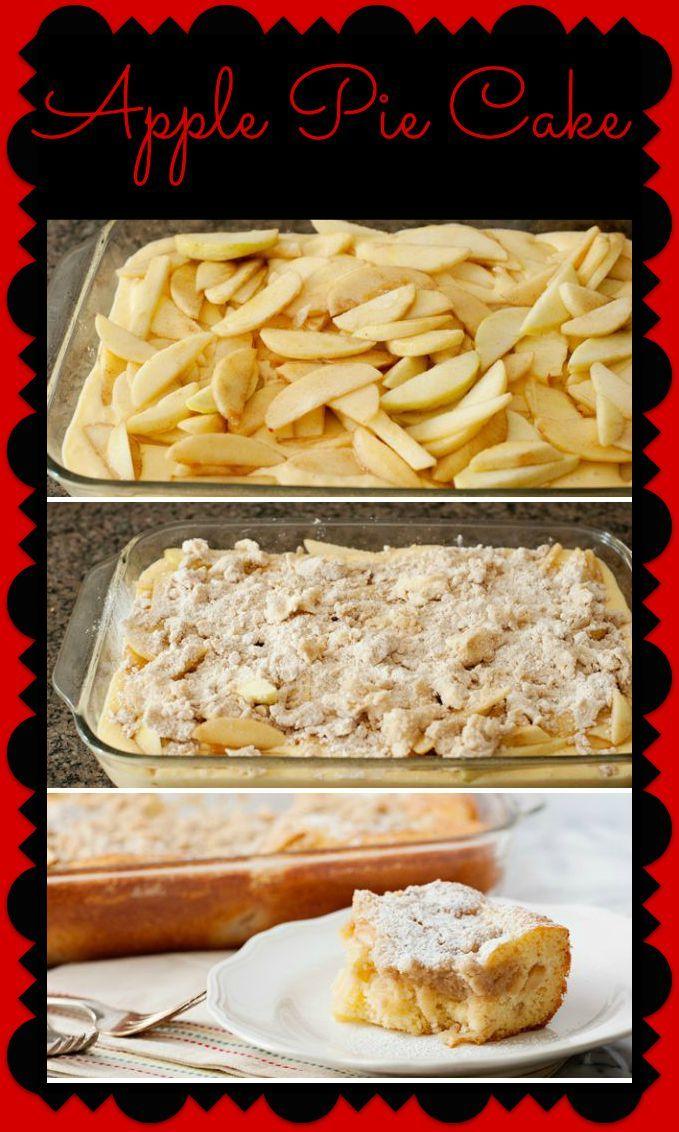Recipe: Apple Pie Cake – Mama Bees Freebies