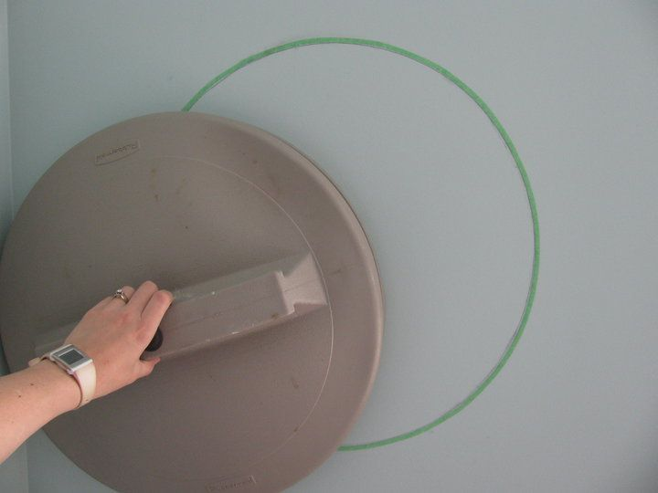 How To Paint Circles On A Wall Any Size Paint Ideas