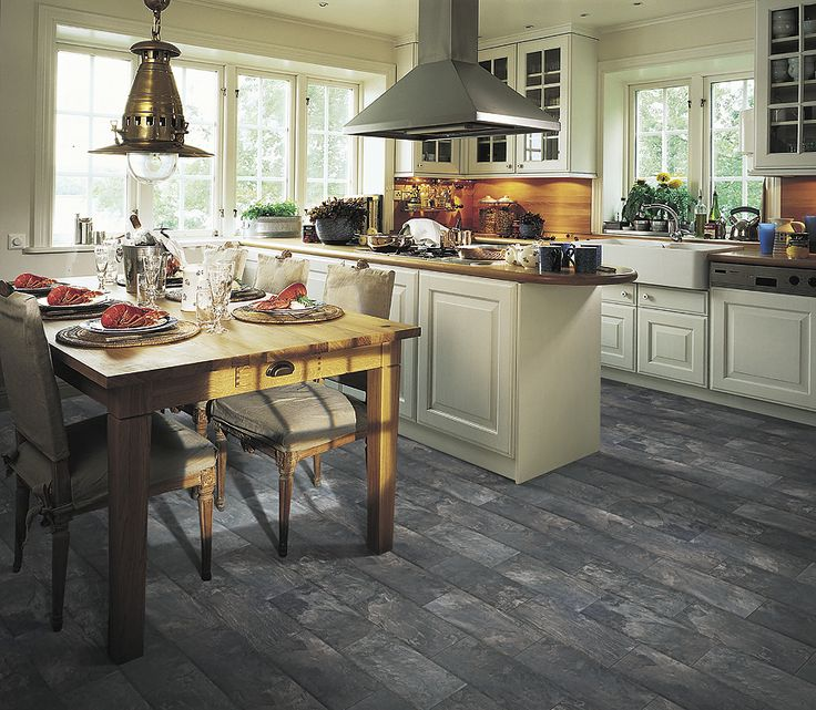pergo monson slate laminate flooring kitchen - Laminate Flooring In A Kitchen