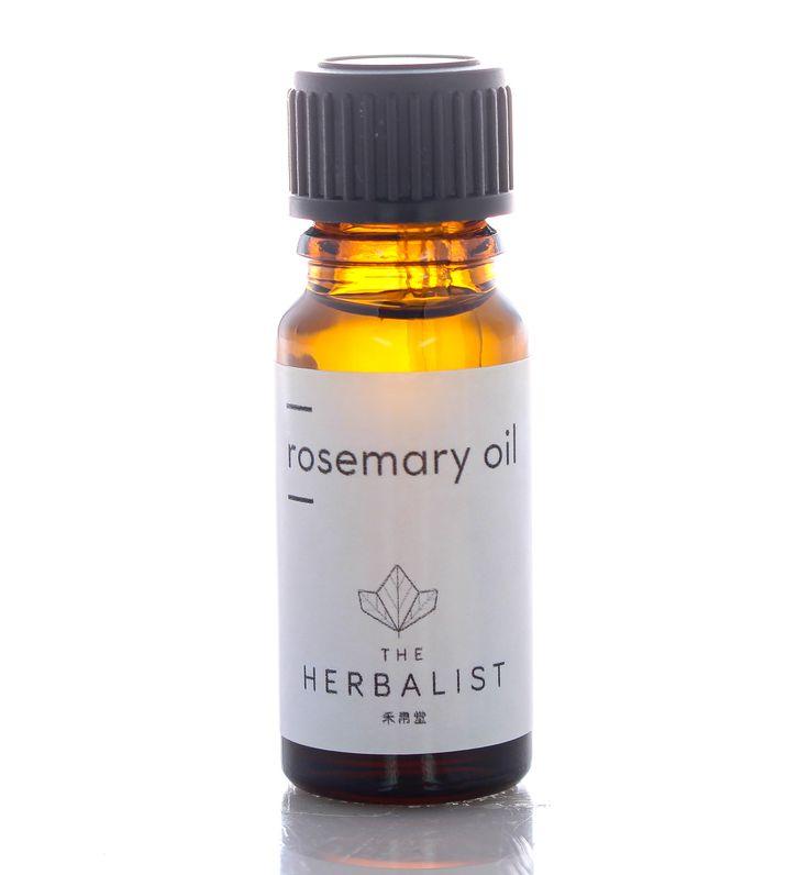 rosemary essential oil - (rosmarinus officinalis) 100% pure essential oil 10ml e, £8.50