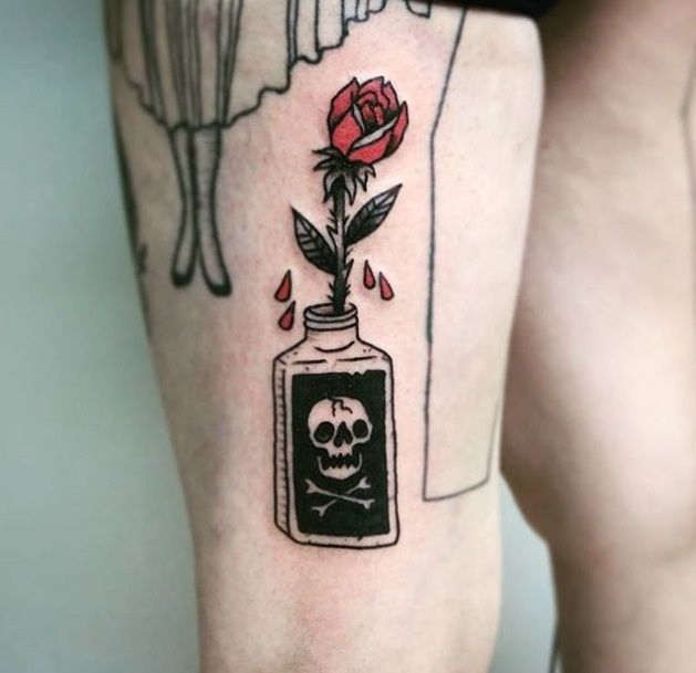 "1337tattoos: ""@jonmoretta on Instagram! submitted by http://rattsalad.tumblr.com """