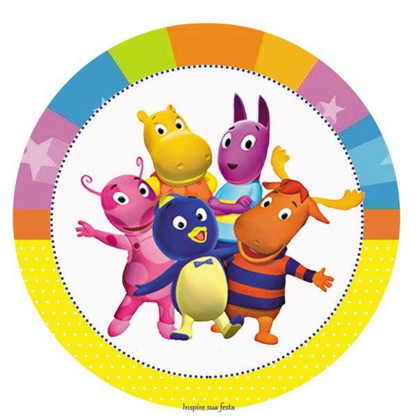 Backyardigans – Kit festa infantil grátis para imprimir – Inspire sua Festa ®