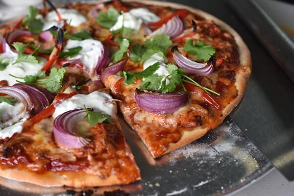 Tandoori Chicken Pizza - Weber