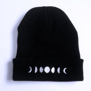 The PHASES of the MOON beanie