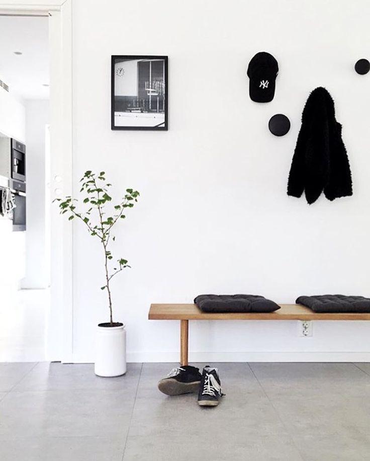 'Berlin Swim' print in the beautiful hallway of @funksjonelt #cocolapine