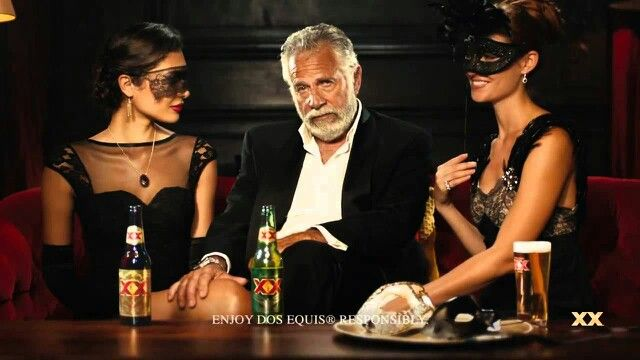 Dos Equis Beer Commercial guy