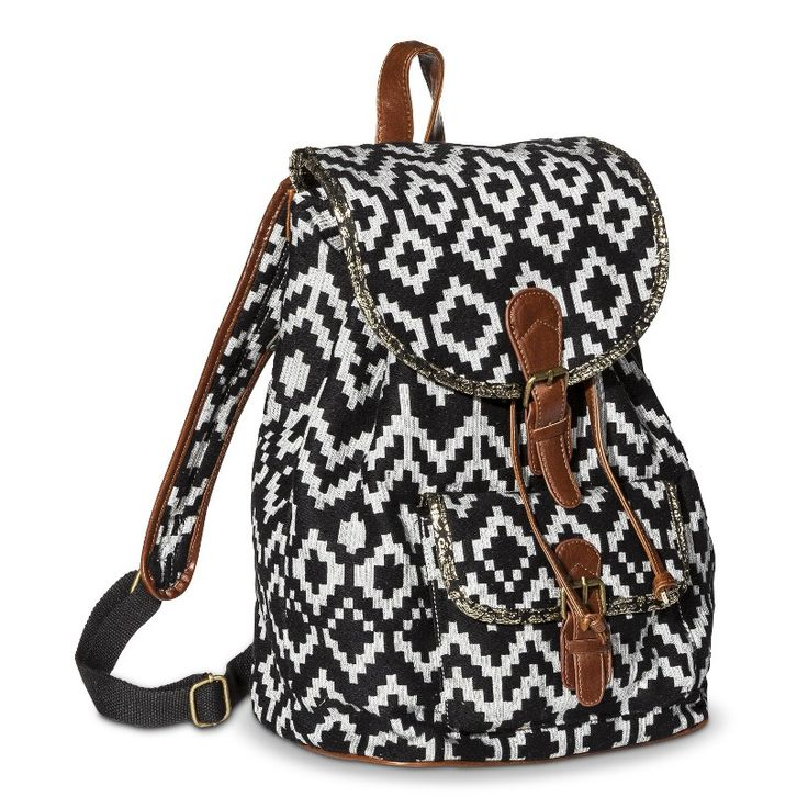 Mossimo Supply Co. Blue Polka Dot Backpack Handb... : Target