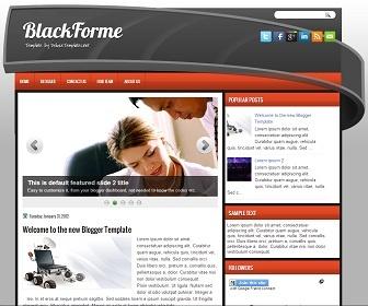 BlackForme Blogger Template