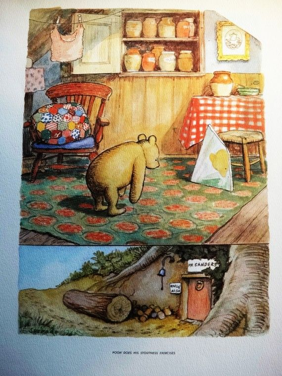 Pooh: His Art Gallery by E.H. Shepard