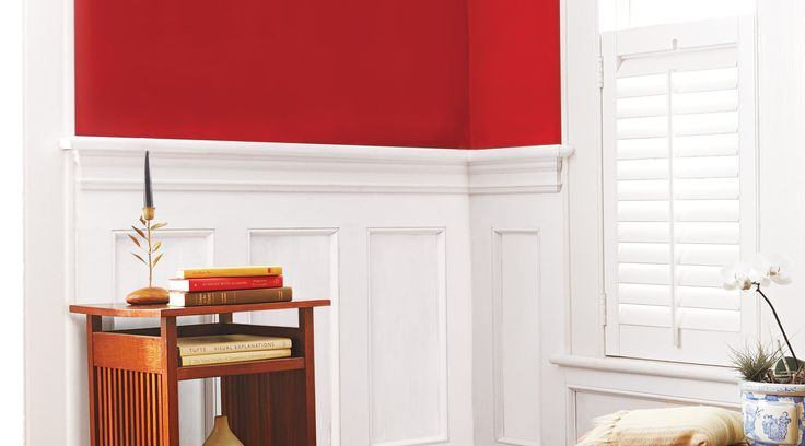 Layer stock lumber and moldings to produce this classic architectural element
