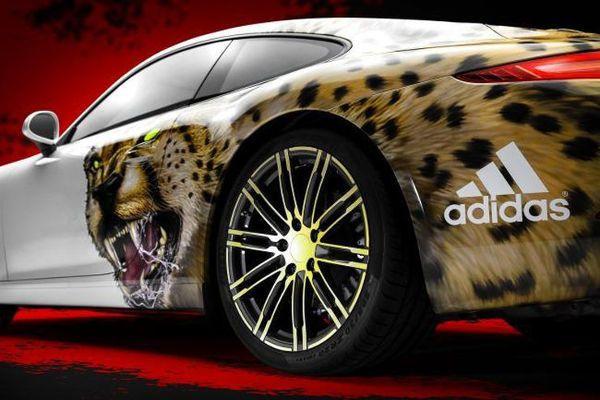 Porsche 911 wersja Adidas