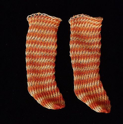 Hand Knitted Doll Stockings #unitedsellers