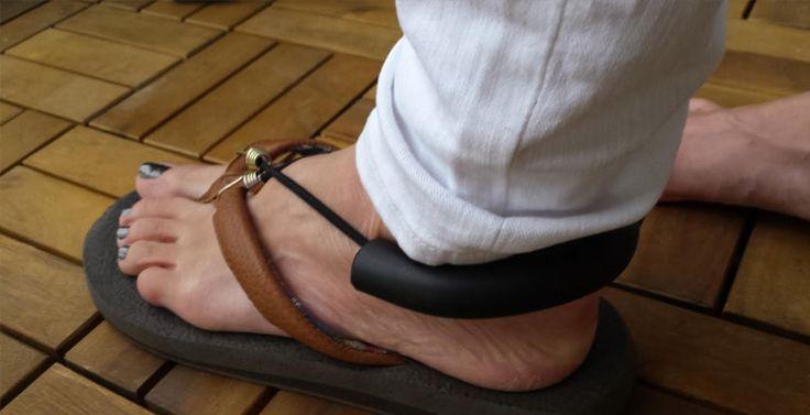Foot drop brace.