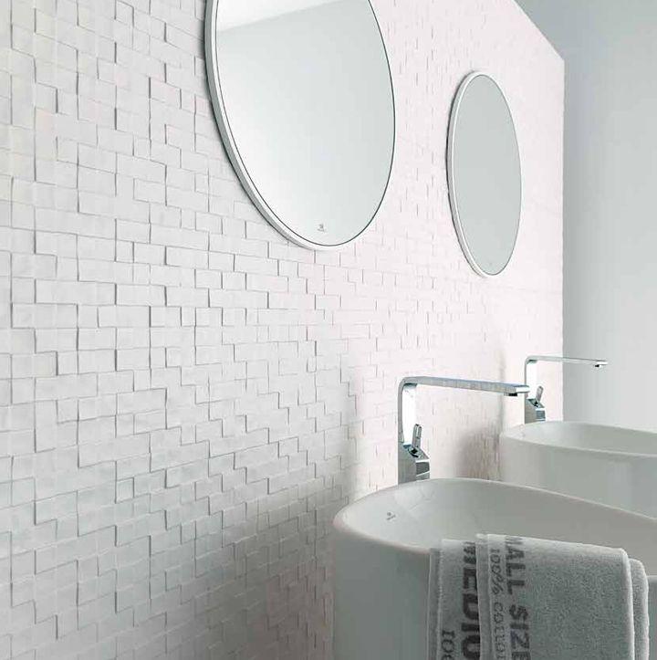 mosaico zen blanco x porcelanosa cermica