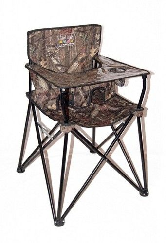 NEW Ciao Baby CAMO Portable Go Anywhere High Chair