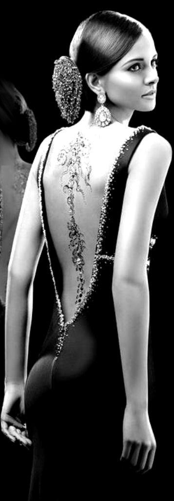 Elegant backless dress  ~ CE♥