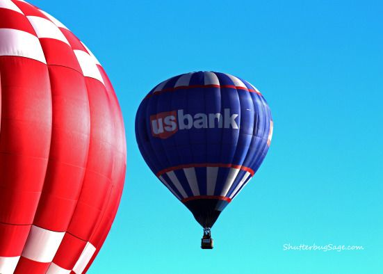 "US Bank ""Hare"" Balloon at the 2015 Midwest Balloon Fest. Bonner Springs, Kansas."