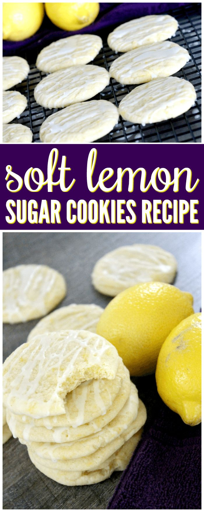 Give this Soft Lemon Sugar Cookies Recipe Made from Scratch a try for your friends and family today!