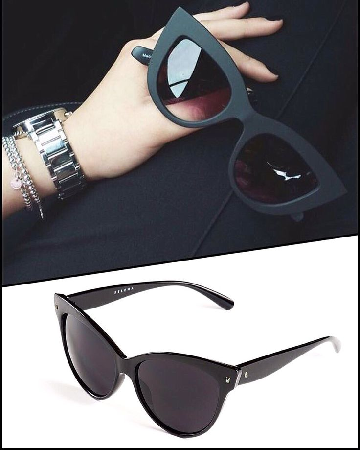 А у нас новинки солнечных очков! Самые трендовые модели! Помните, красота - это, в первую очередь, забота о себе. Чтобы мимические морщинки не атаковали раньше времени, обязательно носите солнечные очки, особенно при таком ярком весеннем и летнем солнышке! #selenajewelry #sunglasses #shades #солнечныеочки #UV #black #classy #кошечки #модныеочки #лето2016 #весна2016 #ss16 #style