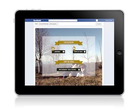 Criação de Página na Rede Social Facebook e Aplicação Web