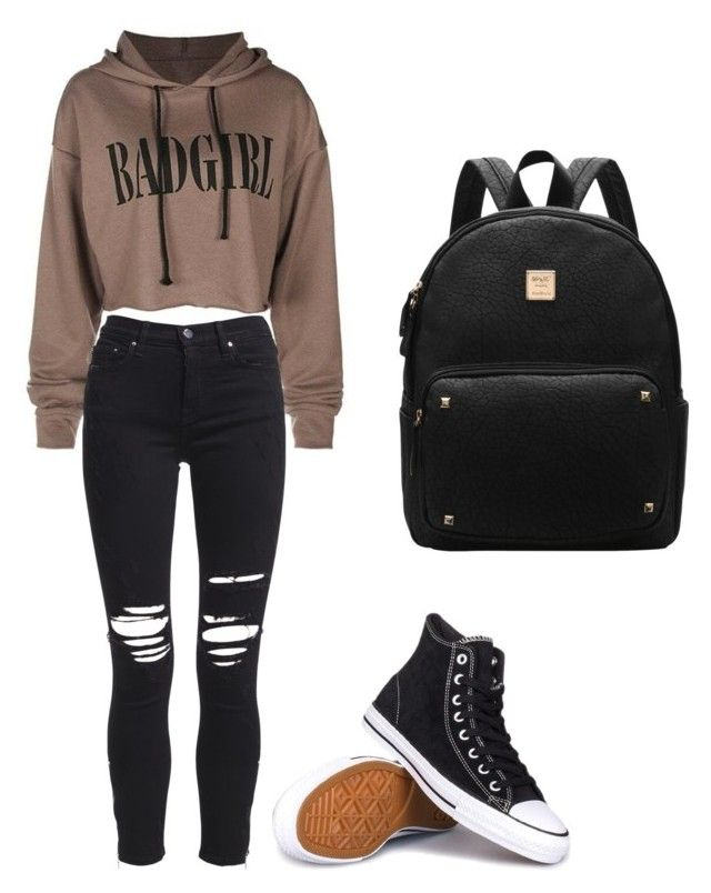 """intitled #3"" by kehichabelle on Polyvore featuring AMIRI and Converse"