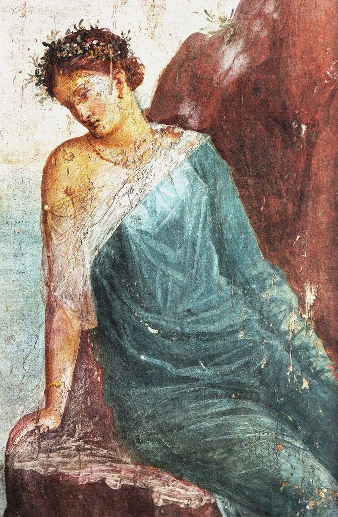 Decorazione pittorica, I d.C. affresco, Villa Imperiale, Pompei