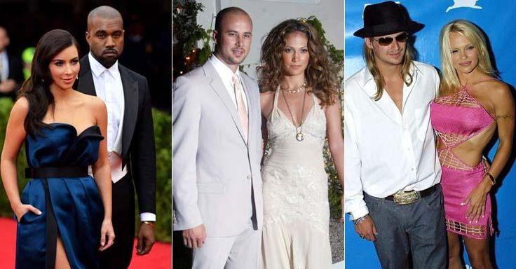 Veja 11 famosas, como Angelina Jolie, que já se casaram 3 vezes