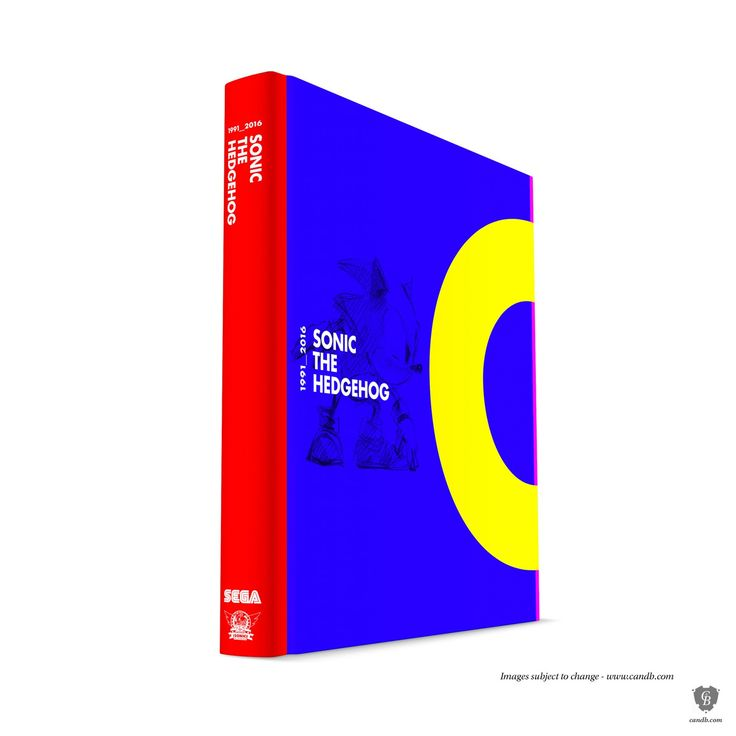 The official Sonic The Hedgehog 25th Anniversary Art Book honors the video game icon with a striking ?coffee-table style? volume about the art and visual d