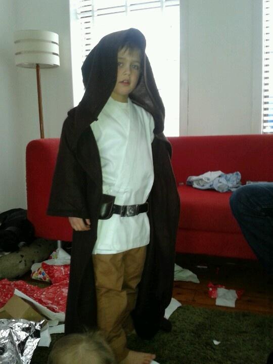 Jedi cape  :-)