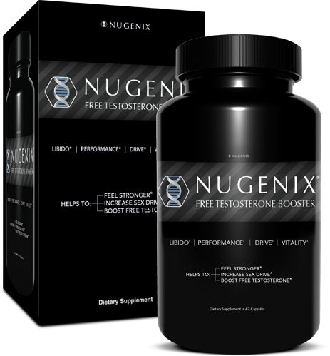 Nugenix Natural Testosterone Booster is an all natural testosterone booster that contains clinically studied ingredients that are proven to boost free testosterone levels.