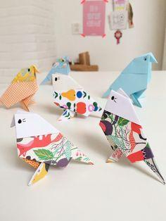 Origami birds DIY | Wimke