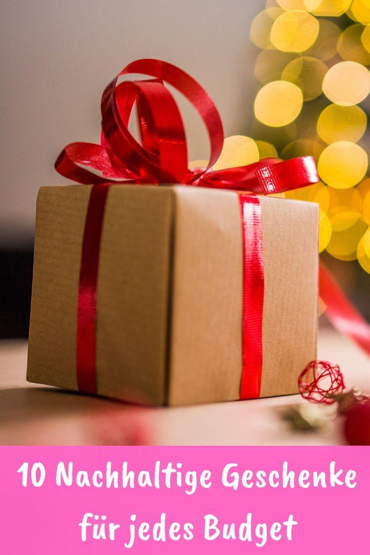 10 Nachhaltige Weihnachtsgeschenke Fur 2019 Nachhaltige Geschenke Geschenke Und Geschenkideen