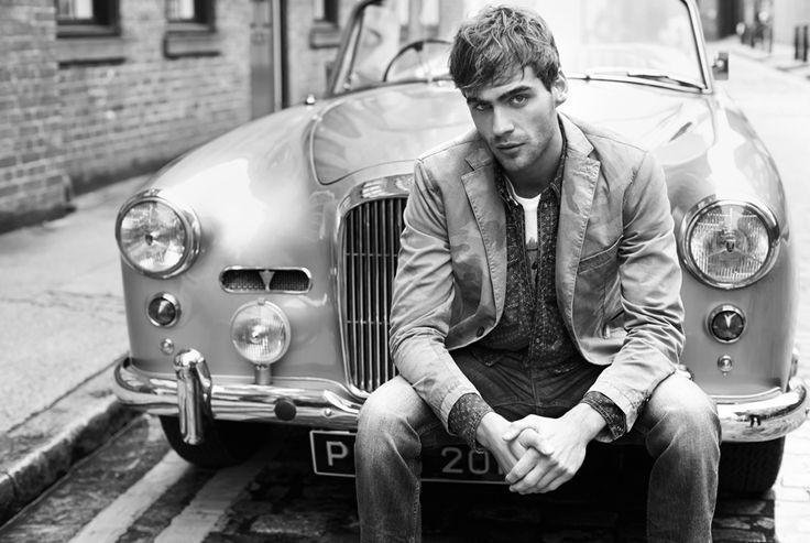 #car #cool #fashion #vintage #monochrome #photography #man