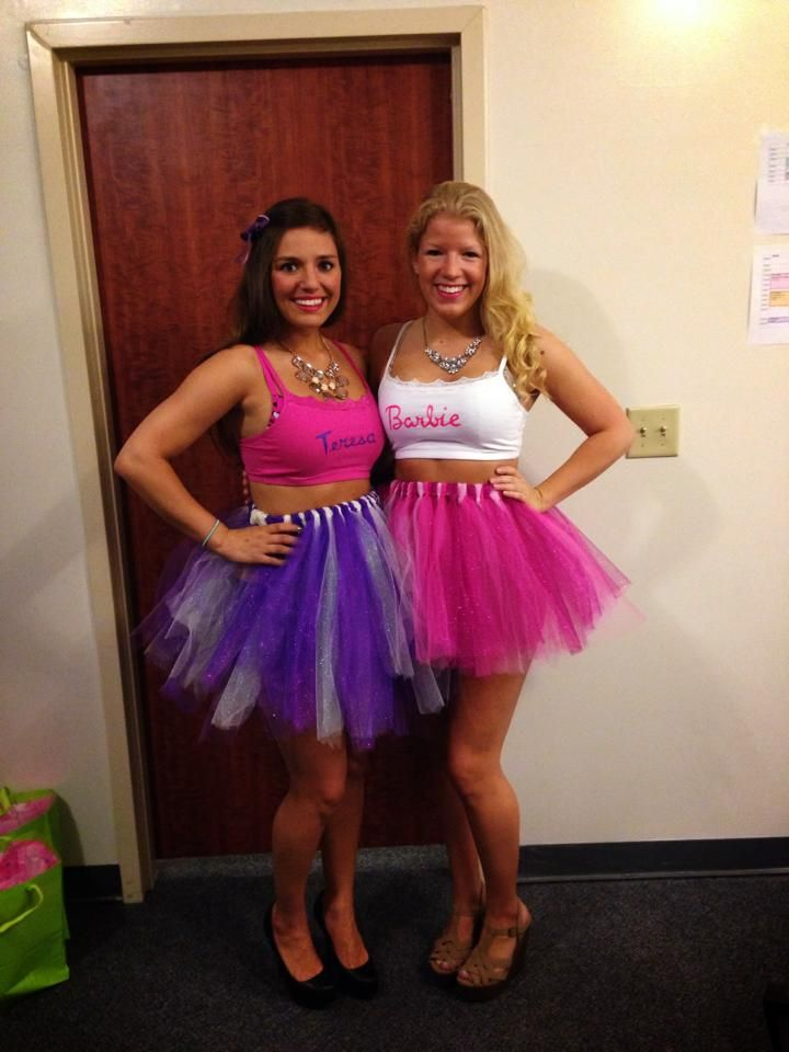 a brunette and a blonde with an inseparable bond tsm - Halloween Costume Brunette