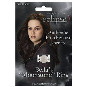 Click on the image for more details! - Twilight Saga Eclipse: Bella's Moonstone Ring Authentic Prop Replica Jewelry Official by NECA (Bella Swan) (Toy)