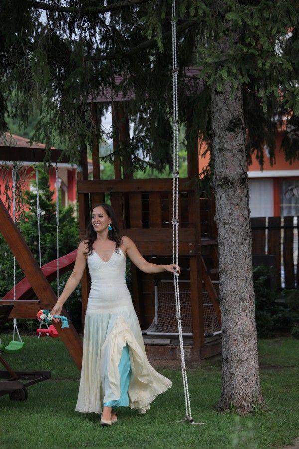 Selyem-nemez ruhák - Menyasszonyi ruha