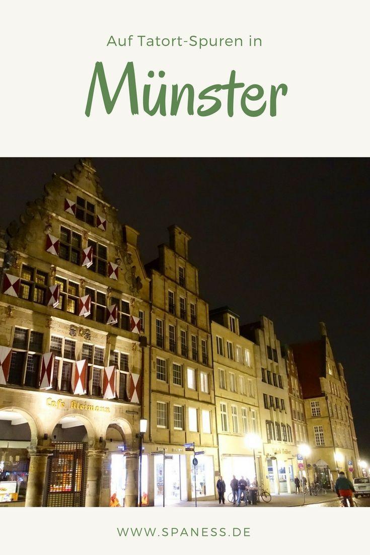 Urlaub Deutschland - auf Tatort-Spuren in Münster unterwegs!