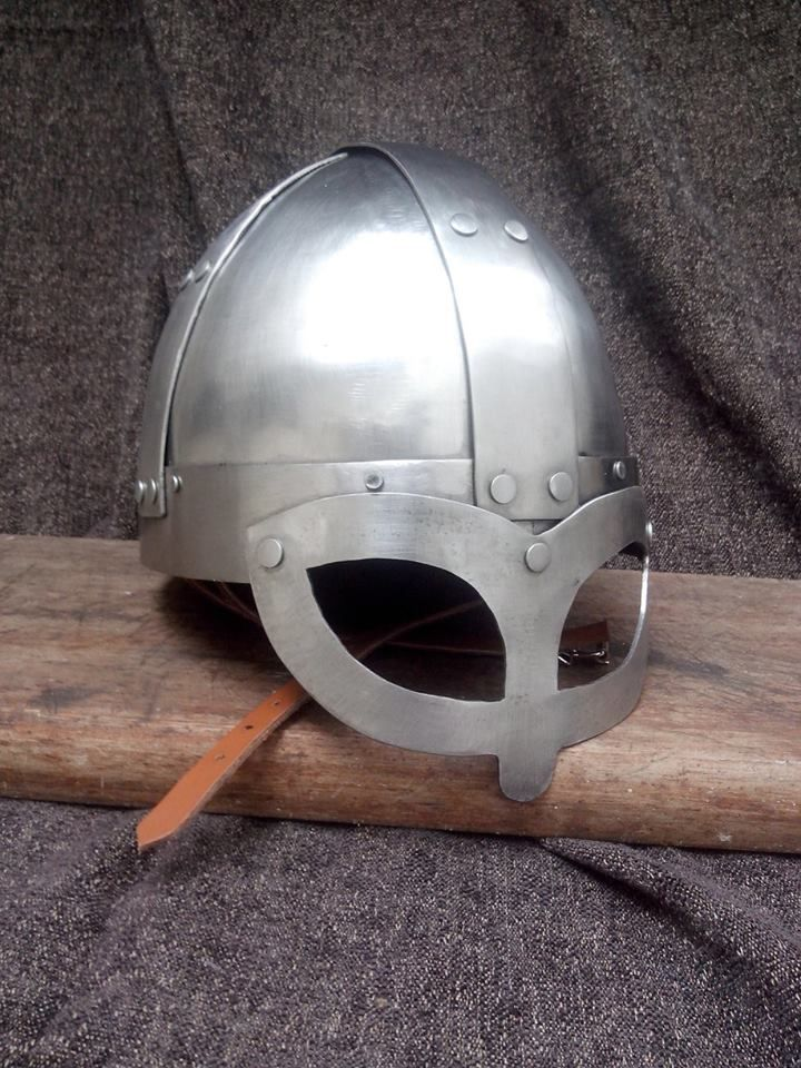 Spangenhelm 2mm steel Made by Oficina Ouroboros