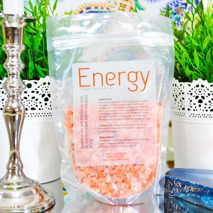 Energy Bath Salts